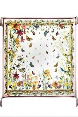 Johnny Was Wildflower Silk Scarf