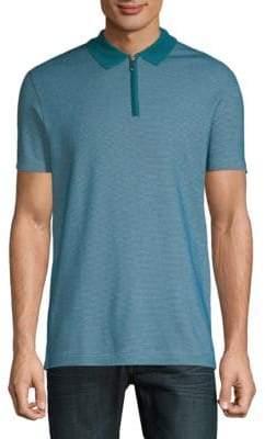 HUGO BOSS Polston Short-Sleeve Cotton Polo