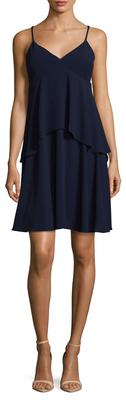 V-Neck Tiered Dress $168 thestylecure.com