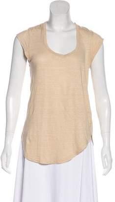 Etoile Isabel Marant Scoop Neck Short Sleeve T-Shirt