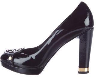 Tory BurchTory Burch Patent Leather Block Heel Pumps