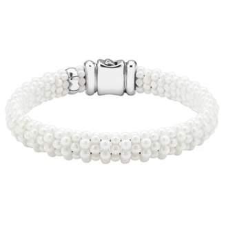 Lagos 'White Caviar' Rope Bracelet