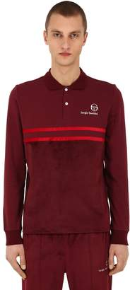 Sergio Tacchini Mw88 Long Sleeve Cotton Polo Shirt