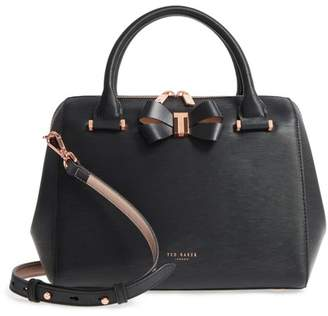 Ted Baker Bowsiia Bow Detail Small Leather Bowler Bag