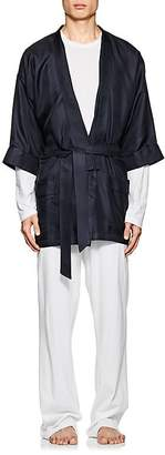Barneys New York Men's Silk Twill Kimono