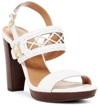 Tommy Hilfiger Erianna Platform Cutout Sandal $89 thestylecure.com