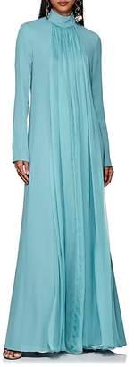 Lanvin Women's Pleated Silk Chiffon Gown