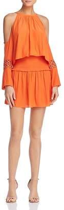 Ramy Brook Libby Cold-Shoulder Dress
