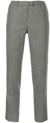 Incotex houndstooth suit trousers