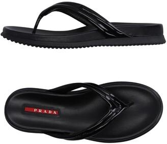 Prada SPORT Toe strap sandals
