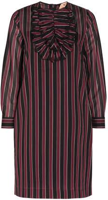 No.21 No. 21 Striped Collar Dress
