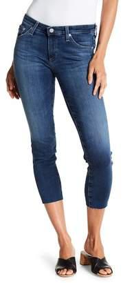 AG Jeans Stilt Raw Hem Cropped Jeans