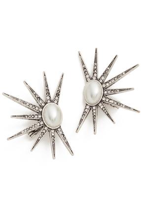 Lulu Frost Zenith Stud Earrings $225 thestylecure.com