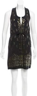 Madison Marcus Silk Mini Dress