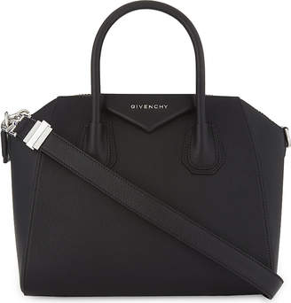 Givenchy Black Modern Antigona Leather Tote Bag