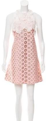 Giamba Brocade Mini Dress