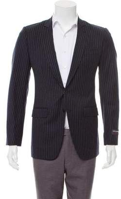 Dolce & Gabbana Striped Wool Blazer w/ Tags