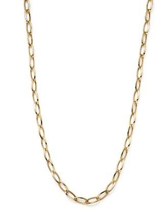 Roberto Coin 18K Yellow Gold Long Link Chain Necklace, 31""