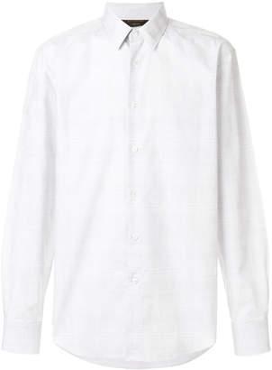Ermenegildo Zegna Couture subtle checkered shirt
