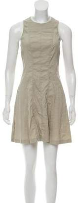 Theory Linen Mini Dress