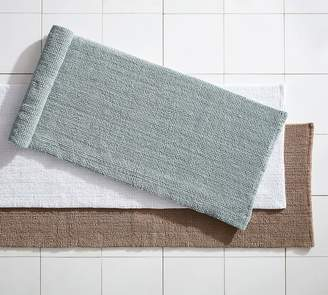 Genial ... Pottery Barn Textured Organic Bath Rug   Double Wide
