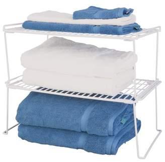 Panacea Products Extra Deep Folding Stacking Shelf