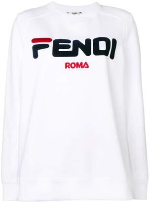 Fendi (フェンディ) - Fendi ロゴ スウェットシャツ