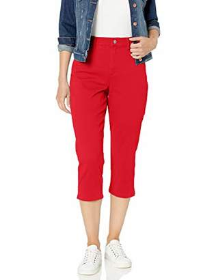 Gloria Vanderbilt Women's Amanda Capri Jeans,8