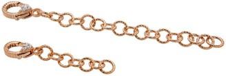 "Judith Ripka Set of 2 14K Clad 2"" & 4"" ChainExtenders"