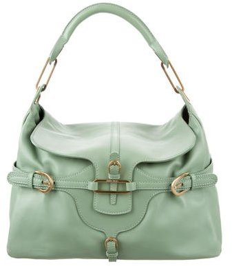 Jimmy Choo Jimmy Choo Leather Tulita Hobo