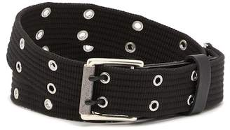 Rag & Bone Wes Webbing Leather Belt