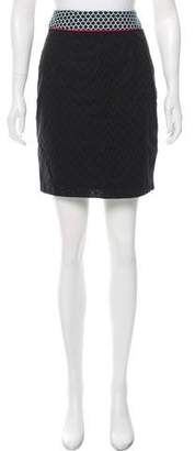 Clements Ribeiro Eyelet Knee-Length Skirt
