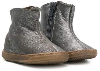 Pépé metallic ankle boots