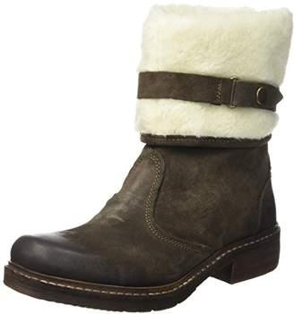 Manas Design Women 162M1919EYT Boots Brown Size: