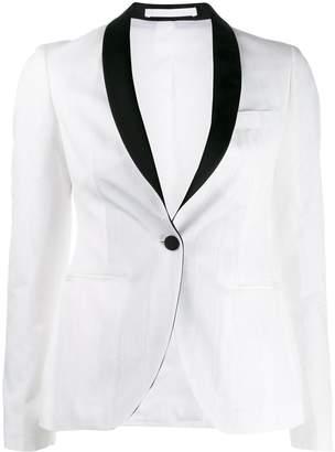 Tagliatore fitted tuxedo jacket