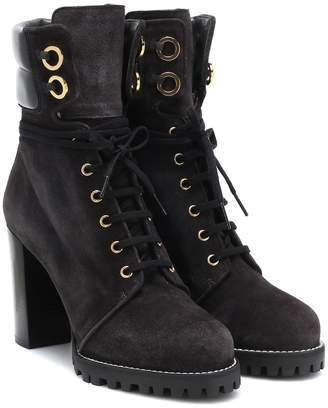 Stuart Weitzman Kingsley leather ankle boots