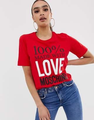Love Moschino 100% t-shirt