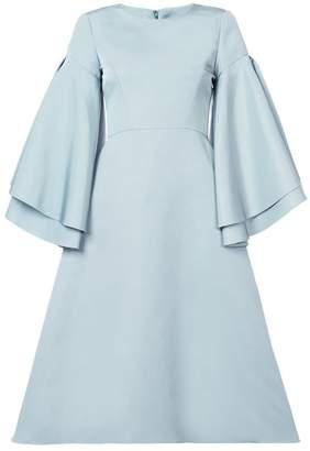 Christian Siriano flared dress