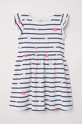 H&M Cotton Dress - White
