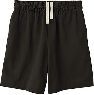 Acne Studios richard drawstring shorts black
