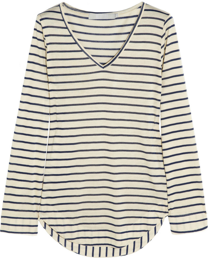 Kain Label Elly striped modal-jersey top