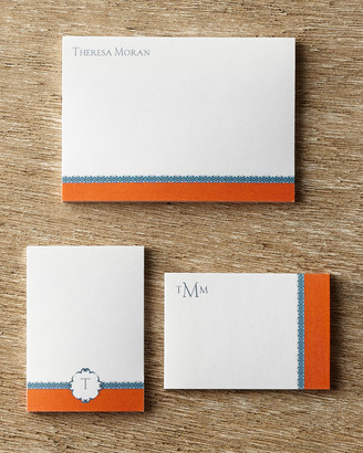 Horchow Personalized Post-it Notepad Set