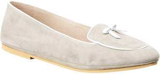 French Sole Sweet Suede Loafer