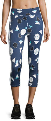 The Upside Match Point Power Pant Printed Performance Leggings
