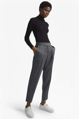 French Connection Freida Wool Tapered Trousers