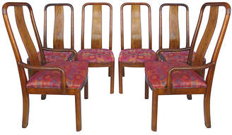 One Kings Lane Vintage Bernhardt High-Back Dining Chairs - Set of 6