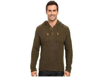 Prana Hooded Henley Sweater