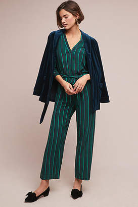Selected Holly Striped Jumpsuit