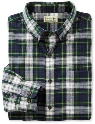 L.L. Bean L.L.Bean Scotch Plaid Flannel Shirt, Traditional Fit