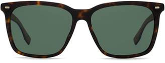 HUGO BOSS square shaped sunglasses
